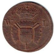 1 Pfennig - Wilhelm IX – obverse