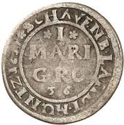 1 Mariengroschen - Wilhelm VI. – reverse
