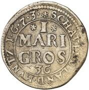 1 Mariengroschen - Karl – reverse