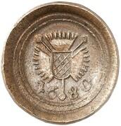 1 Pfennig - Karl (Copper Pattern) – obverse