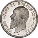 2 Mark - Albrecht Georg – obverse