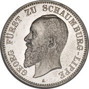 2 Mark - Albrecht Georg – obverse