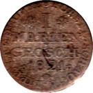1 Mariengroschen - Georg Wilhelm – reverse