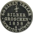 ½ Silbergroschen - Georg Wilhelm – reverse