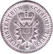 1 Silber Groschen - Georg Wilhelm – obverse