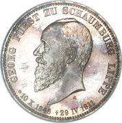 3 Mark - Albrecht Georg – obverse