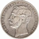 1 Vereinsthaler - Adolf Georg – obverse