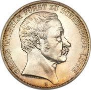 2 Vereinsthaler - Georg Wilhelm (Golden Reign) – obverse