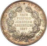 2 Vereinsthaler - Georg Wilhelm (Golden Reign) – reverse