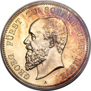 5 Mark - Albrecht Georg – obverse