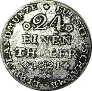 1 Groschen - Georg Wilhelm – reverse