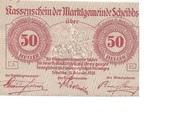50 Heller (Scheibbs) – obverse