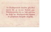 50 Heller (Scheibbs) – reverse