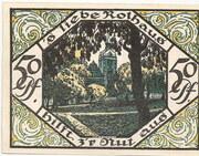 50 Pfennig – reverse
