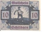 10 Heller (Schildorn) – obverse