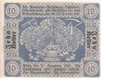 10 Heller (Schildorn) -  reverse