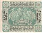 20 Heller (Schildorn) – reverse