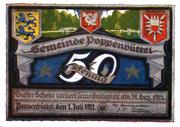 50 Pfennig (Poppenbüttel) -  obverse
