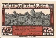 75 Pfennig (Grömitz) – reverse