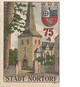 75 Pfennig (Nortorf) – reverse