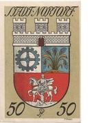 50 Pfennig (Nortorf) – reverse
