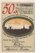 50 Pfennig (Nortorf) – obverse