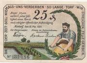 25 Pfennig (Nortorf) – obverse