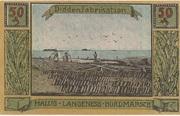 50 Pfennig (Langeness-Nordmarsch) – reverse