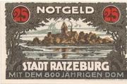 25 Pfennig (Ratzeburg) – obverse