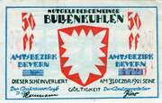 50 Pfennig (Bullenkuhlen) – obverse