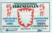 25 Pfennig (Bullenkuhlen) – obverse