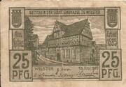 25 Pfennig (Wilster; Sparkasse) – obverse
