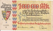 1,000,000 Mark (Provinz Schleswig-Holstein) – obverse