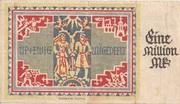 1,000,000 Mark (Provinz Schleswig-Holstein) – reverse