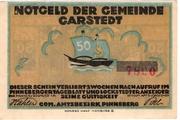 50 Pfennig (Garstedt in Holstein) – obverse