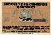 75 Pfennig (Garstedt in Holstein) – obverse