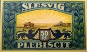 50 Pfennig (Woyens) – reverse
