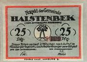 25 Pfennig (Halstenbek) – obverse