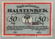 50 Pfennig (Halstenbek) – obverse