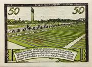 50 Pfennig (Halstenbek) – reverse