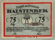 75 Pfennig (Halstenbek) – obverse