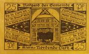 25 Pfennig (Klein Nordende-Lieth) – obverse