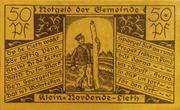 50 Pfennig (Klein Nordende-Lieth) – obverse