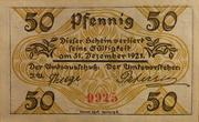 50 Pfennig (Klein Nordende-Lieth) – reverse