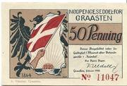 50 Pfennig (Graasten) – obverse