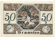 50 Pfennig (Graasten) – reverse