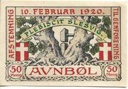 50 Pfennig (Auenbüll) – reverse