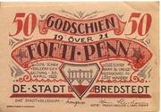 50 Pfennig (Bredstedt) – obverse