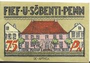 75 Pfennig (Bredstedt) – reverse