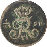 2½ Shilling, 1/24 Daler Specie - Frederik VI – obverse